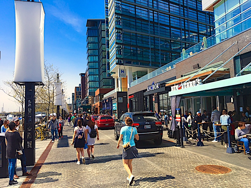 """The Wharf"" is a lively new neighborhood at DC"